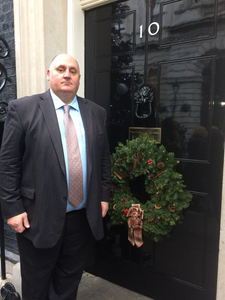 Dick Goodwin at 10 Downing Street
