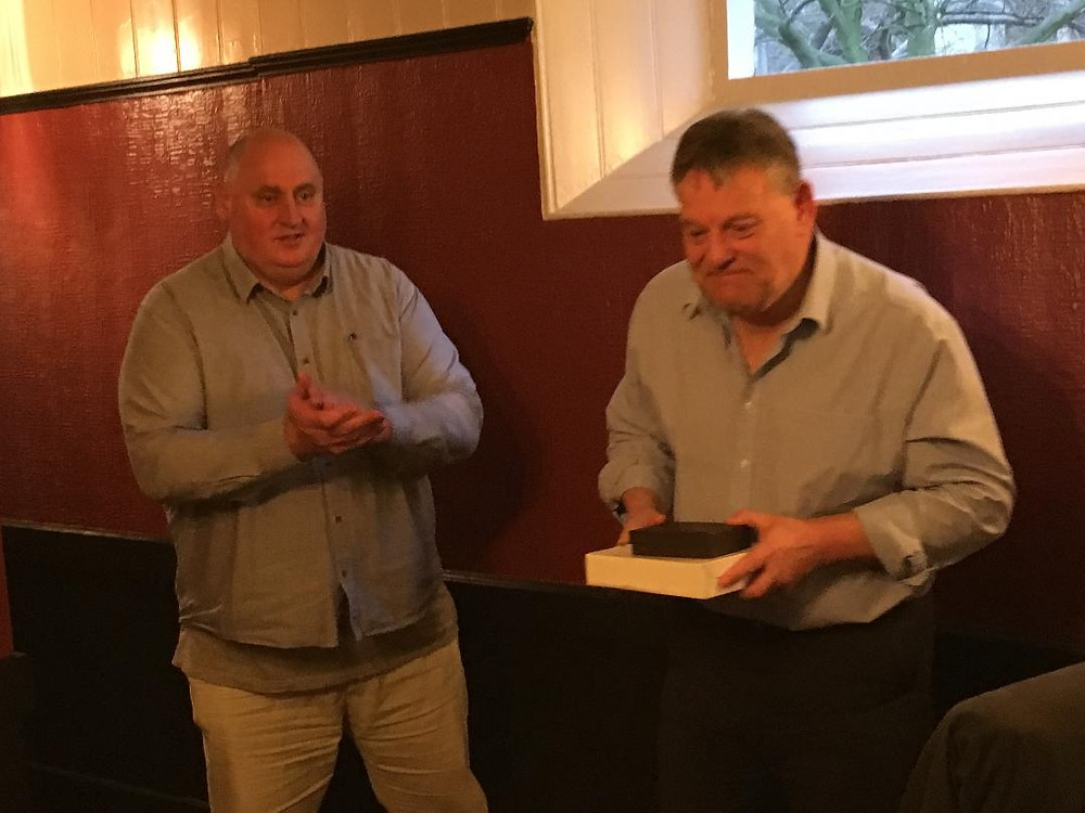 Paul Newbiggin retirement