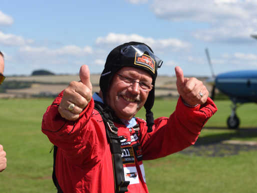 Press Release: Korean veteran 85 and Chelsea Pensioner 70 to skydive for Taxi Charity
