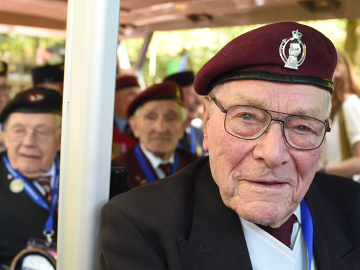 Taxi Charity escorts veterans to Netherlands for Remembrance and Liberation Day commemorations
