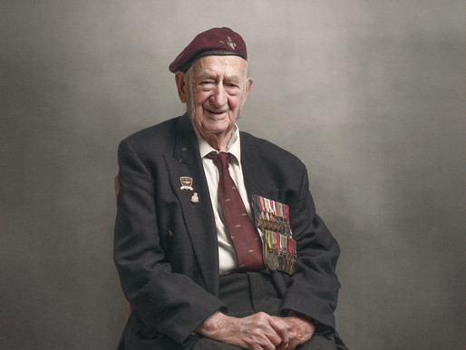 100-year-old WWII veteran John Sleep has passed away