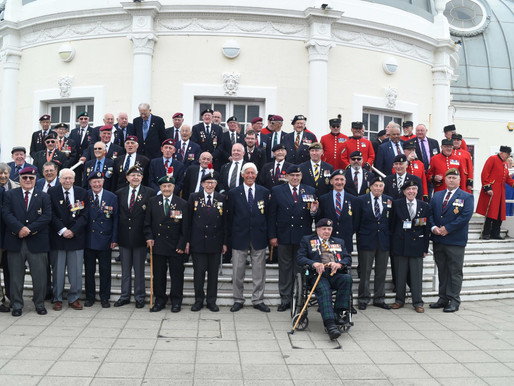 Photos from our 2018 veterans trip to Worthing