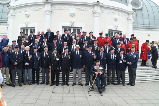 Annual veterans trip to Worthing