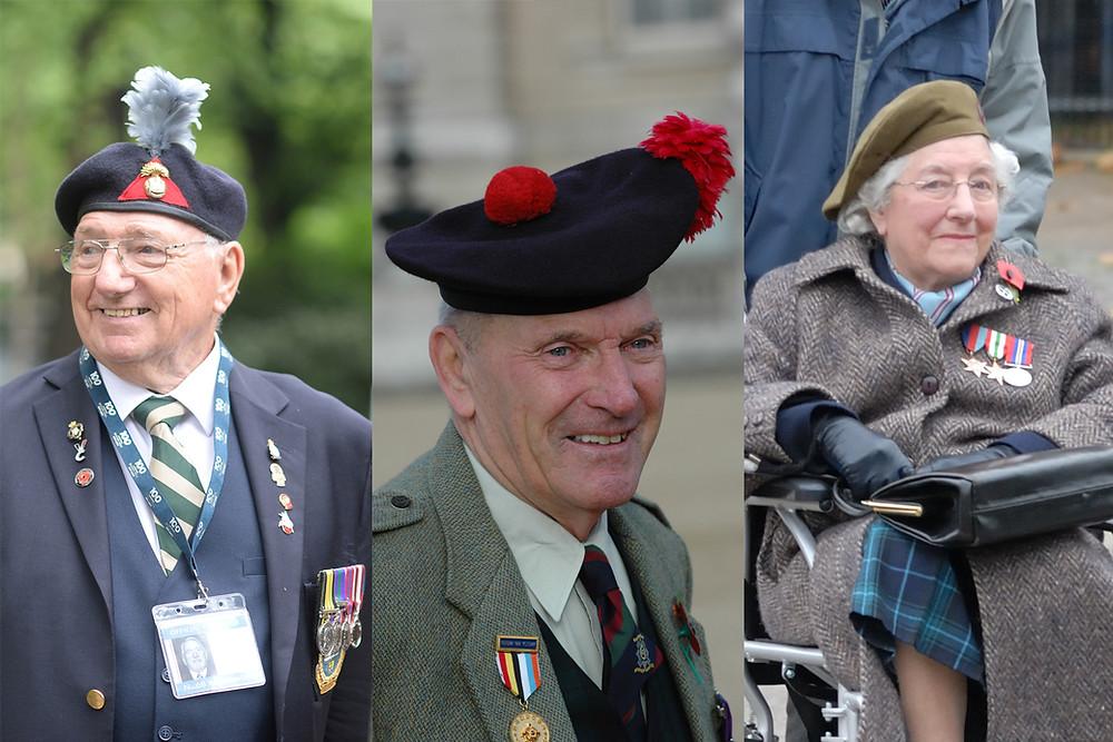 Vic Needham-Crofton, Bill Parr and Mildred Schutz