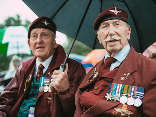 WWII veterans delighted as British Normandy Memorial opens