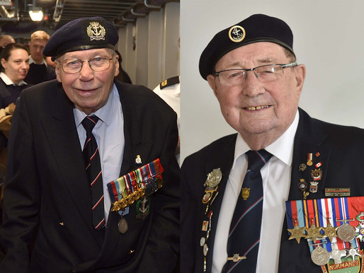 The 76th anniversary of VJ Day: Two veterans share their stories
