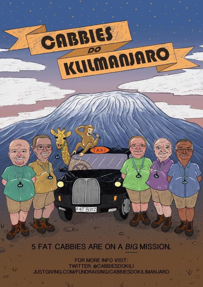 Cabbies Do Kilimanjaro