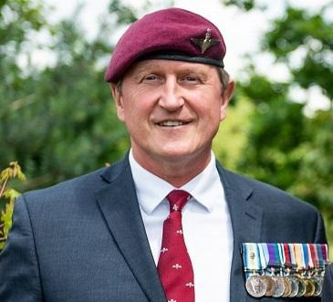 """""""The Parachute Regimental Association is pleased to be allied with the Taxi Charity"""" - Paul Raison"""