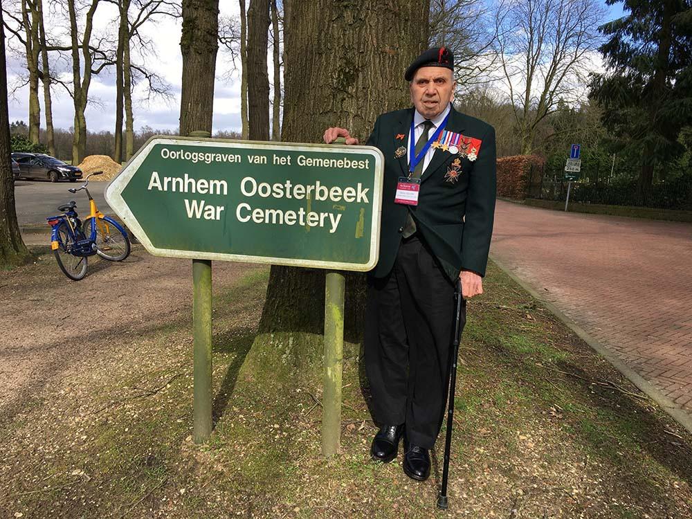 Harry Rawlins in Oosterbeek