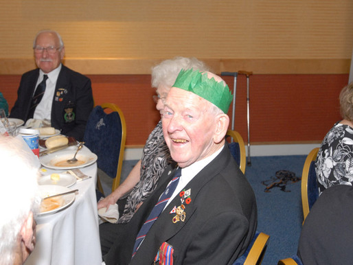 Photos from Taxi Charity veterans' Christmas meal at Millwall FC