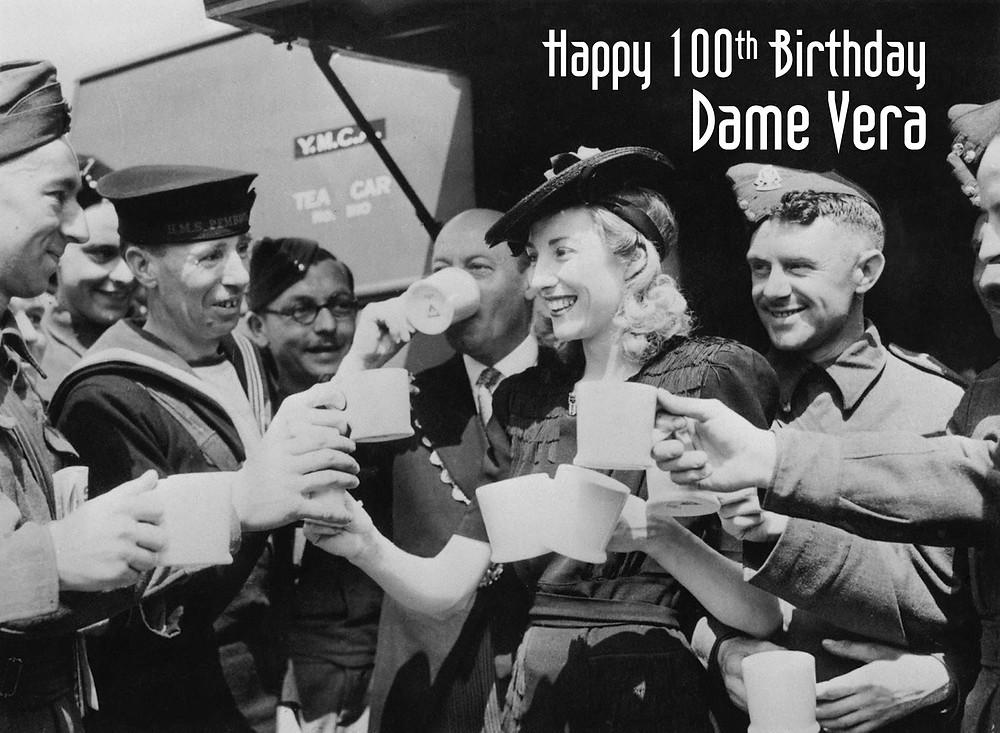 Dame Vera Lynn happy 100th birthday