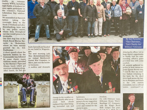 Taxi Charity takes veterans to the Netherlands, The Cab Driver