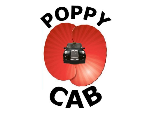 Be a Poppy Cab on Remembrance Sunday