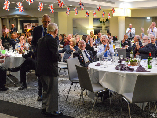 Photos from the last night of our veterans trip to Normandy