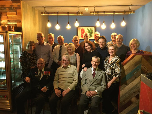 Taxi Charity helps Bill Gladden to celebrate his 96th birthday