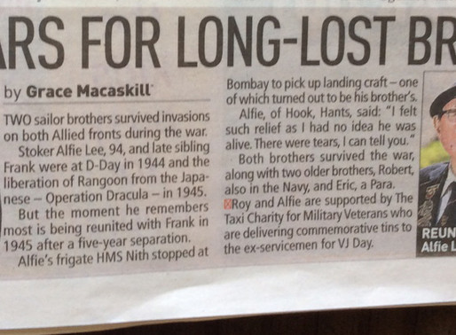 Fred Lee: Tears for long-lost bruv, Sunday People