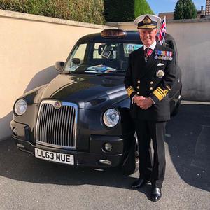 Vice Admiral Sir Adrian Johns, KCB, CBE, KStJ, ADC
