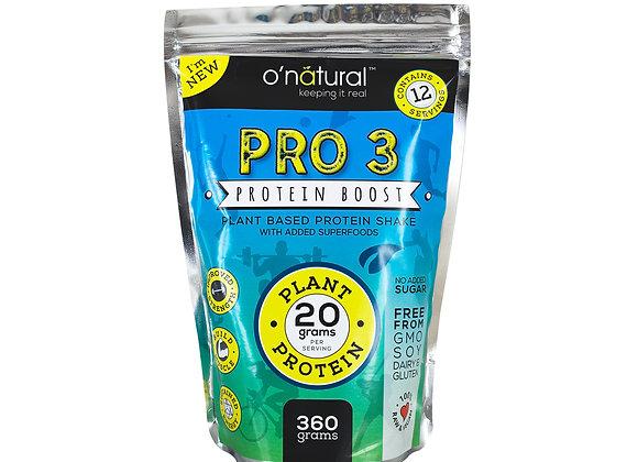 PRO 3 Vegan Protein Boost