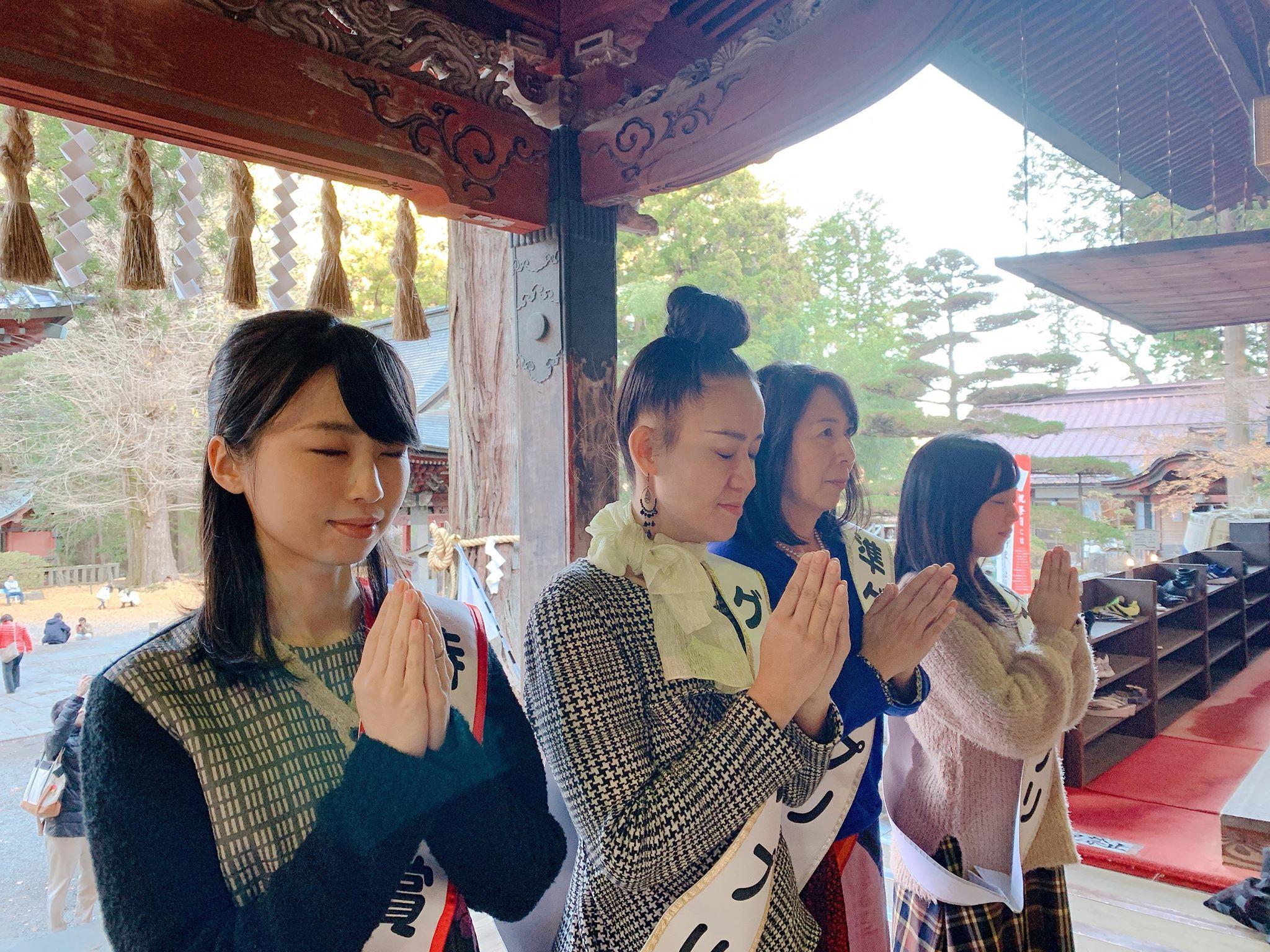 浅間神社祈る
