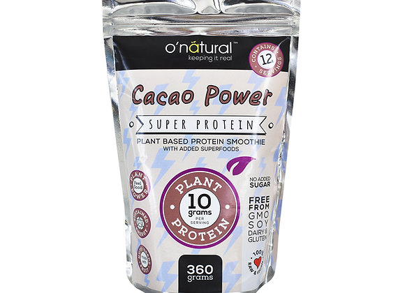 Cacao Power Vegan Protein Super Smoothie