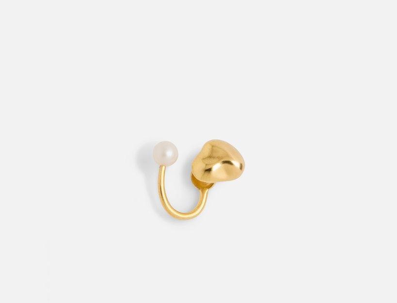 TWIN PEARL EARRING