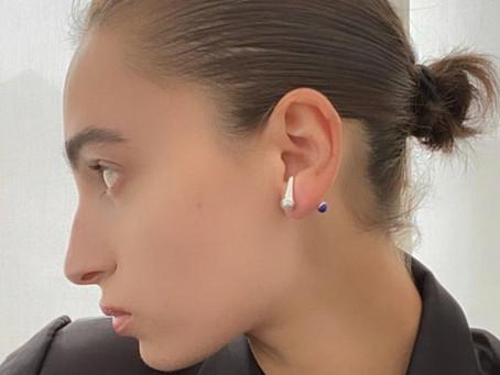 Why we Love the Perlazuli Earring