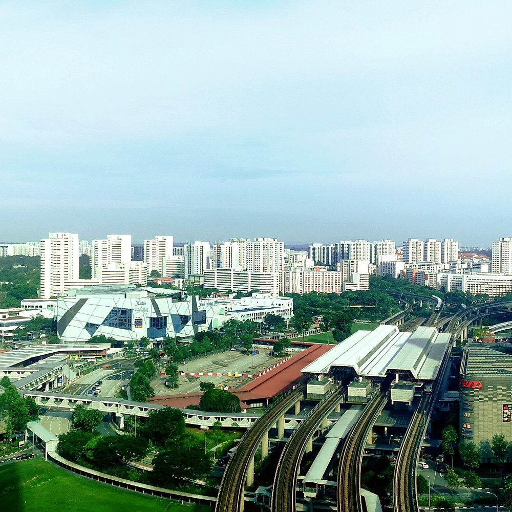 The view from Gen Infiniti Academy's new office at Vision Exchange (2 Venture Drive, #14-22 Singapore 608529)