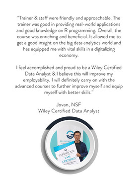 WILEY Certified Data Analyst | Gen Infiniti Academy