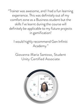 Unity Certified Associate Course | Gen Infiniti Academy