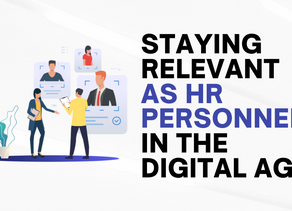 Here's How HR Personnel Can Stay Relevant In The Digital Age