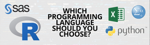 which programming language should you choose? R programming language, Python programming language, Microsoft Excel, SAS or SPSS?