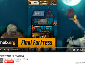 Mob.org: Final Fortress - Idle Survival Youtube Review