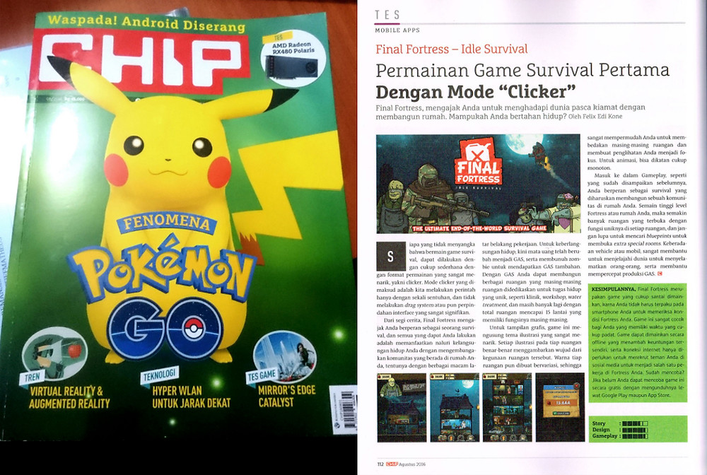 Garuda Team Review - CHIP Indonesian Gaming Magazine