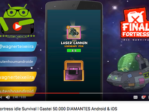 Eu Tenho Android : Gastei 50.000 DIAMANTES | Final Fortress Idle Survival Android & iOS
