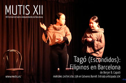 Tagó (Escondidos): Filipinos en Barcelona  de Berjer B. Capati.