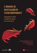 Cartel de las segundas jornadas de investigación, ilustraión de Mariona Conde Labraña
