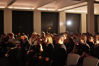 Público asistente a la gala de entrega de premios
