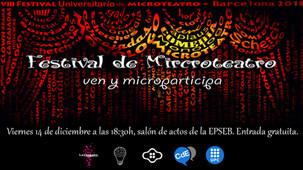 VIII Gala de microteatro en la UPC