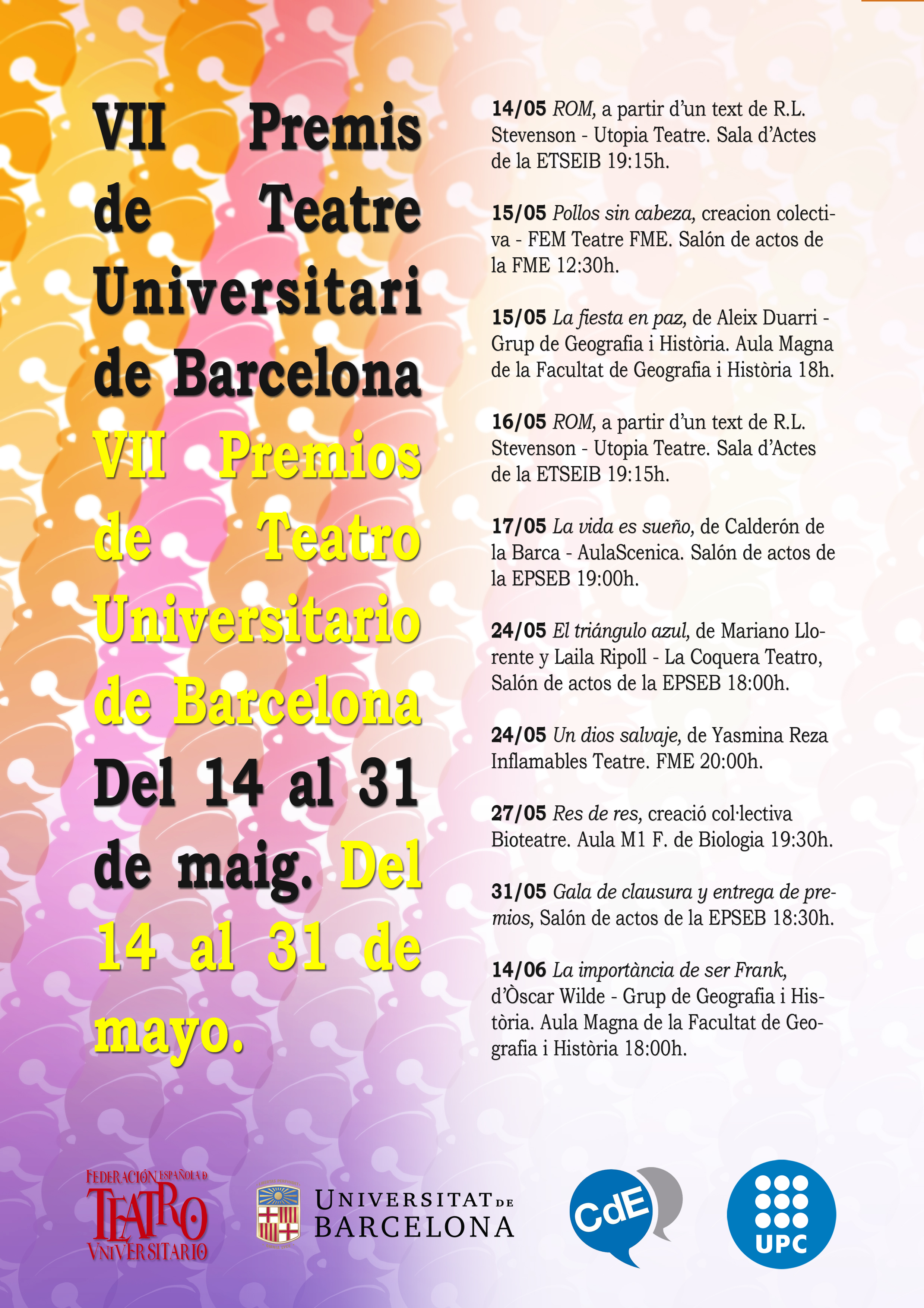 Premios Barcelona Teatro Universitario 2