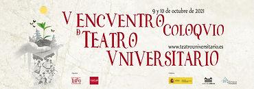 V Encuentro Coloquio de teatro universitario