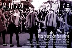 Muestra del Laboratorio de intervención feminista
