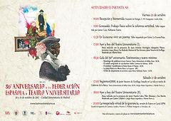 Actos del 50 aniversario - 20 y 21 de octubr en Madrid.