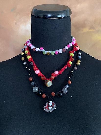 Bold & Fun Crochet Choker/Necklaces