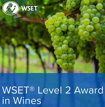 WSET Level 2 Award in Wines - Saturday Course - April 10th, 17th & 24th