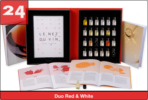 Le Nez du Vin Red+White Duo (24 aromas)