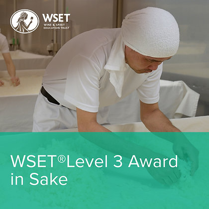 WSET Level 3 Award in Sake - Evening Course
