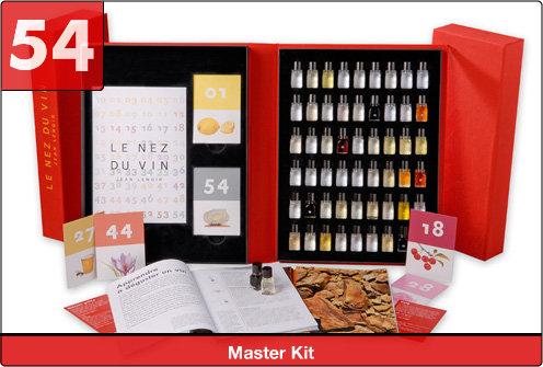 Le Nez du Vin The Masterkit (54 aromas)