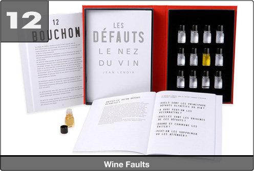 Le Nez du Vin Faults in Wine (12 aromas)
