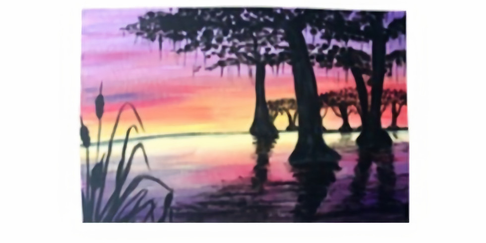 Louisiana with Oil Paints, Paint Night