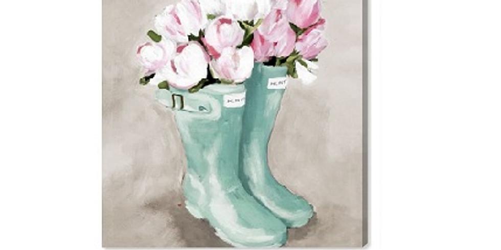 Rain Boots, Paint Night